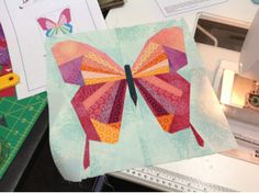 Butterfly Paper Piecing