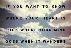 Where your mind wanders