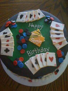 P-p-p-poker cake, p-p-p-poker caake, can't eat my can't eat my poker cake. (I couldn't help myself...)