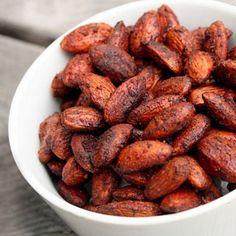 Fiery five #spice #almonds #recipe