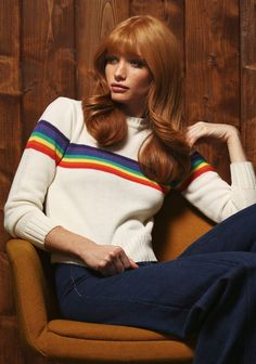 The Stoned Immaculate Vintage Winter Collection is Sunny and Bright #70s #fashion trendhunter.com