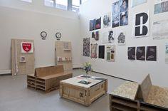 aka: Yale MFA Graphic Design Thesis Show 2012 (photos by Sandra Burns) [2012, USA]