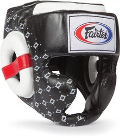 Fairtex Super Sparring Headgear - Black - Large by Fairtex. $99.95. The Fairtex Super Sparring Headgear's sleek new design offers the comfort, visibility and protection you need without the weight of other similar bulky full coverage sparring headgears. This new version features extra padding in the head and cheek area but retains its' signature lightweight, comfortable feel. The chin area has been upgraded to a curved design to guarantee a comfortable fit eve...