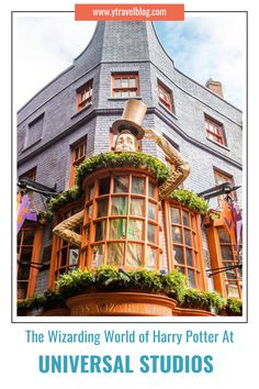 Butter Beer? Diagon Alley? Buying a wand? Make your trip to the Wizarding World Of Harry Potter at Universal Studios as magical as possible with our guide to the park! #UniversalStudios #HarryPotter #OrlandoFlorida #AdventureVacations #FamilyAdventure #OutdoorFun #FamilyRoadTrip #USRoadTrips #FamilyTravel
