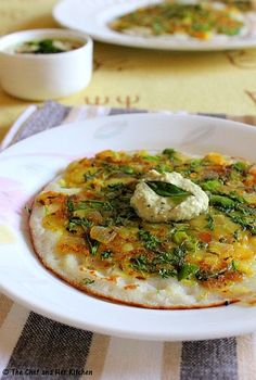 a dosa from Khaogallis of Mumbai! Recipe on Yummly. Indian Veg Recipes, Indian Snacks, Vegetarian Recipes, Cooking Recipes, Vegetarian Cooking, Indian Breakfast, Breakfast For Dinner, Breakfast Recipes, Breakfast Bites