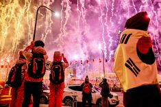 The best photos of the 2018 Winter Olympics - February 9, 2018.  Fireworks go off at the start of the opening ceremony. Martin Bernetti/AFP/Getty Images
