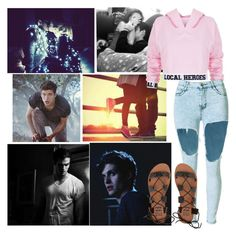 imagine Isaac being your boyfriend by delilah-teen-wolf on Polyvore featuring polyvore fashion style Local Heroes Billabong clothing