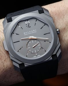Hands-On With Four Amazing Bulgari Minute Repeater Watches In Titanium