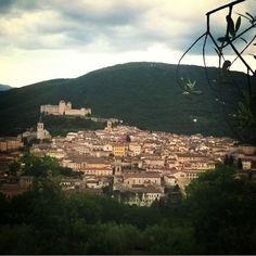 The Green Heart of Italy is Umbria.  Grazie @pilohstudio for the beautiful photo.  #ollivellaline #allnatural #veganbeauty #crueltyfree #naturalbeauty #umbria #italy #spoleto #olivella #nature #greenscapes