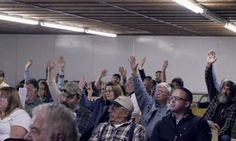Faced With a Fracking Giant, This Small Town Just Legalized Civil Disobedience A new first-in-the-nation law will shield residents from arrest as they use direct action to stop fracking-wastewater injection wells Direct Action, New Warriors, And Justice For All, Economic Systems, System Model, Civil Disobedience, People News, Energy Companies, Environmental Health
