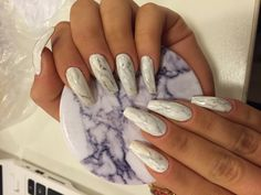 Marble nails using gel colors || @nailsweden ||