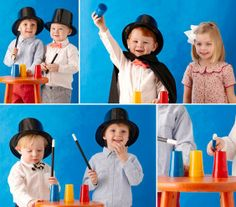 How to plan a magic-themed birthday party, start to finish.