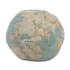 Posh Tots furniture... Hermes Globe Decorative Pillow