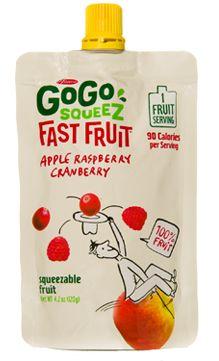 GoGo squeeZ - Apple Raspberry Cranberry