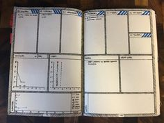 Been tweaking this weekly layout for a month and I think I'm officially happy…