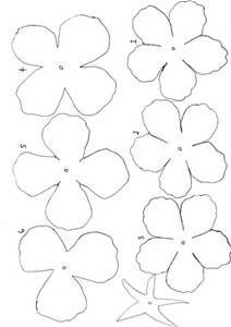 Flower Template Cut Out - AZ Coloring Pages