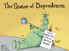 The Statue of Dependence INFOWARS.COM  BECAUSE THERE'S A WAR ON FOR YOUR MIND