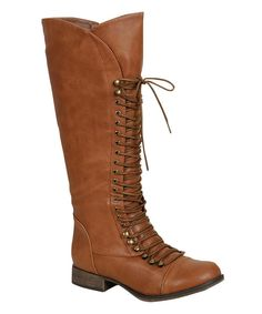 Tan Georgia Boot