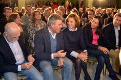 De Cospedal arropa a Fernández de Moya para repetir como alcalde de Jaén