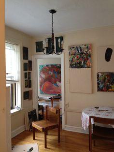 Pete Fegundo's studio