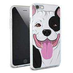 Pit Bull Black White - Pitbull American Staffordshire Terrier Dog Pet Protective Slim Hybrid Rubber Bumper Case for Apple iPhone 6 Graphics and More http://www.amazon.com/dp/B00TOV6JPQ/ref=cm_sw_r_pi_dp_HYMKvb1SPR5CR