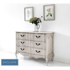 Amour Classic Chest of Drawers | French Drawers