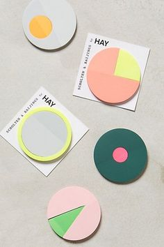 Color Theory Sticky Notes