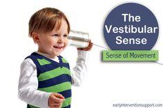 The Vestibular Sense: The Sense of Movement - How It Affects Child Development | Early Intervention Support