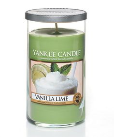 Look what I found on #zulily! Vanilla Lime Perfect Pillar Candle #zulilyfinds