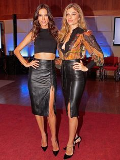 Alessandra Ambrosio e Grazi Massafera brilharam no evento (Foto: Felipe Monteiro / Gshow)