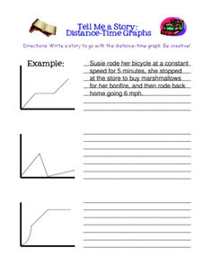 Tell Me a Story: Distance-Time Graphs - 7.P.1.3