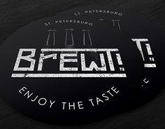 "Check out new work on my @Behance portfolio: ""Логотип и фирменный стиль пивоварни BrewT!"" http://be.net/gallery/57131937/logotip-i-firmennyj-stil-pivovarni-BrewT"
