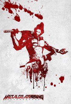 Metal Gear Solid Metal Gear Solid Series, Metal Gear Rising, Grey Fox, Samurai Art, Cyberpunk, Gears, Fantasy Art, Video Game, Sketches