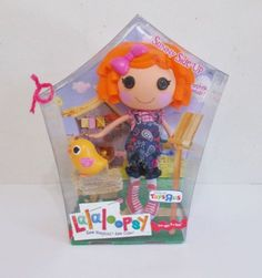 NEW-Lalaloopsy-Sunny-Side-Up-Doll-Full-Size-Retired-Ages-4