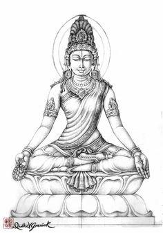 Simantini Devi Murti Version II | Divyakala