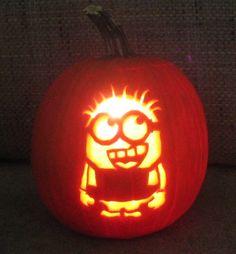 halloween minion pumpkin | Hallowen.org