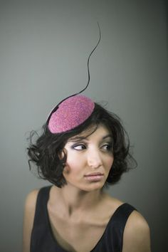 Tweed Cocktail Hat
