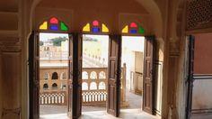 Good morning travelers with sights from Hawa Mahal in Jaipur. The name Hawa Mahal or