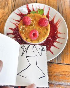 Bon Appétit !!! # #elyxyak #cheesecake #iseefaces