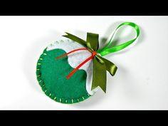 Adornos de navidad con fieltro. Felt Christmas ornaments. Gali Craft - YouTube