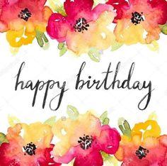 #Birthday Happy Birthday Wishes Cards, Happy Birthday Flower, Birthday Posts, Happy Birthday Pictures, Birthday Blessings, Happy Birthday Quotes, Birthday Sayings, Birthday Memes, Happy Birthdays