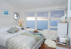 Luxury beach hut in South East Cornwall--some major anniversary needs to be celebrated here!