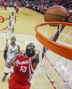 James Harden : Classic photos of James Harden Houston Rockets Basketball, College Basketball, Nba Players, Basketball Players, Rio Grande Valley, James Harden, Oklahoma City Thunder, Best Player, Basketball