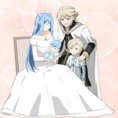 Fire Emblem Fates - Azura, Corrin, Shigure and Kana