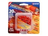 Crosman PowerShot Fast Flight Penetrator Pellets .177 Cal 5.4 Grains Pointed Lead Free 150ct Review Buy Now