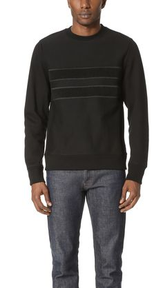 PS BY PAUL SMITH Cotton Crew Neck Sweatshirt With Tonal Embroidery. #psbypaulsmith #cloth #embroidery