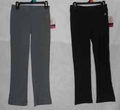 New Lot of Girls Size 6-6X Yoga Pants Black Gray Energy Zone #EnergyZone #Everyday