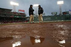 April 30 game between the Red Sox & Rays was rained out.Because of MLB rules the Bosox get to choose when to reschedule the game. Why should they? It's not the Rays fault they live in the Armpit of the East where the weather is crappy & they have a roofless ballpark! Boston chose to play doubleheader today instead of later although the weather is forecast to be bad again.Also no place to store bobbleheads to be given out at Fenway & everyone badmouths the Trop! Blah!