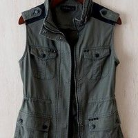 March On Army Vest