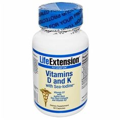 Life Extension Vitamin D and K with Sea-Iodine, with Sea-Iodine 60 caps Life Extension http://www.amazon.co.uk/dp/B008OA959A/ref=cm_sw_r_pi_dp_1BTiub0FM96YF